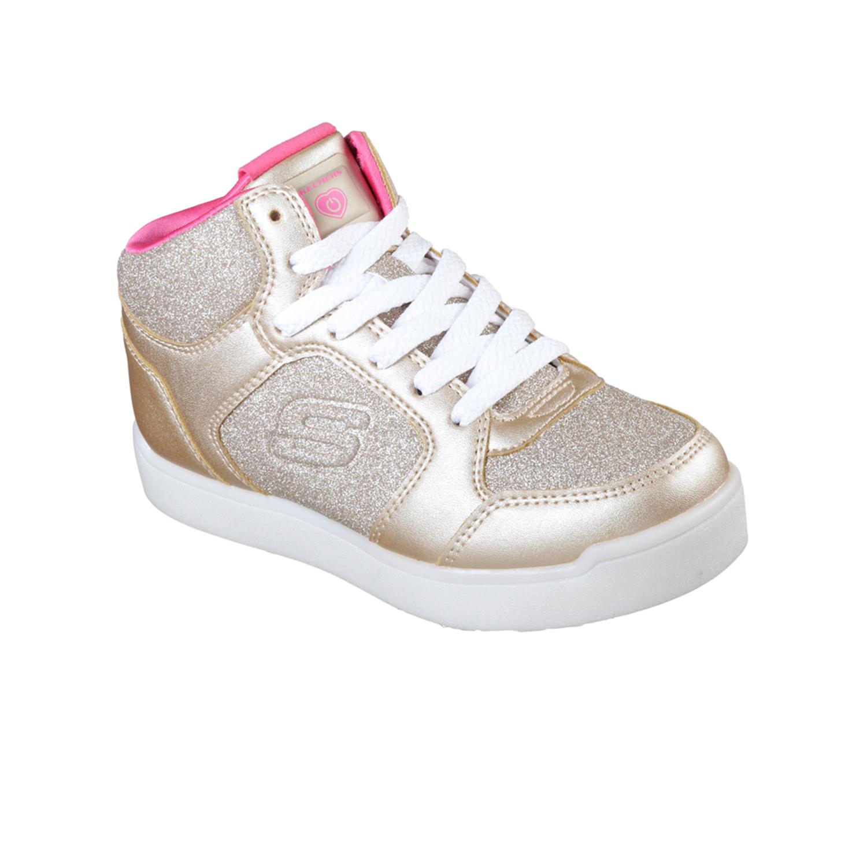 Sneaker E Shqdxsa Con Per Scarpe Luci Brillantini Bambini Skechers wv0Nnm8